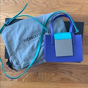 Handbags - Nicholette-a Cheeky Purse - Ultra Marine